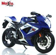 Motos et quads miniatures bleus 1:2
