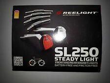 Reelight SL250 LED Bike Bicycle Cycling Front Head Rear Tail Lamp Light Set