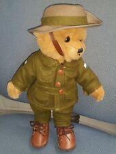 LITTLE DIGGER WW1 BEAR - AUSTRALIAN GREAT WAR LIMITED EDITION 30CM