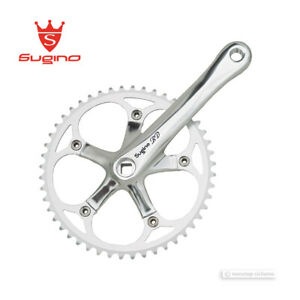 "NEW Sugino RD-2 Single Speed Track Crankset 48T 170mm 3/32"" : SILVER"