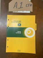 JOHN DEERE 3940 3960 FORAGE HARVESTER PARTS MANUAL BOOK PC-1693