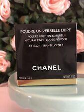 Chanel Poudre Universelle Libre Face Loose Powder # 20 Clair 30g Nib