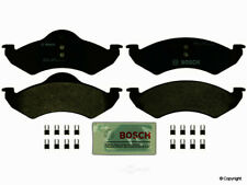 2 Complete NEW Bosch Brake Pad Sets for 2000 2001 2002 Dakota Durango - FRONT