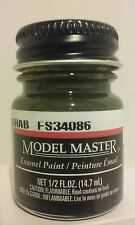 Testors Model Master Enamel paint 1787, Green Drab. 1/2fl.oz. (14.7ml.)