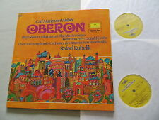 DG 2726 052 WEBER Oberon Nilsson Hamari Domingo Prey Grobe Kubelik vinyl 2LP