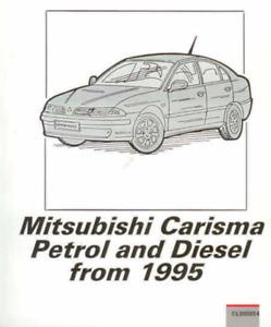 Workshop Manual Mitsubishi Carisma Petrol Diesel 1995-2003 New Service Repair