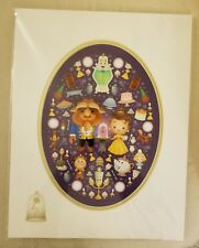 "Disney Beauty and Beast ""A Truly Enchanted Rose"" Jerrod Maruyama Deluxe Print"