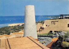 Cartolina Sardegna Stintino capo Falcone e spiaggia della Pelosa 1980