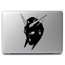 Detailed Gundam Head Vinyl Decal Sticker for Macbook Air Pro Laptop Car Window