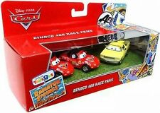 Disney Cars Radiator Springs Classic Dinoco 400 Race Fans Gift 3 Pack Mia NEW