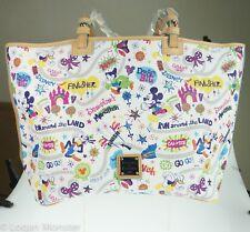 runDisney Disneyland Half Marathon Dooney & Bourke Shopper Tote Bag