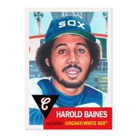 Topps Living Set Harold Baines #219 HOF Chicago White Sox