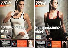 TOP Damen Funktionsshirt Kompressions Shirt Funktionswäsche Joggen Fitness