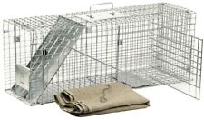 Feral Cat Rescue Kit Safe Catch Release Collapsible Trap Cage Divider Nonlethal