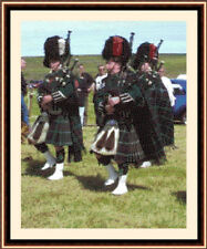 Pipers 01, Cross Stitch Kit