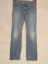 D8333 Abercrombie & Fitch Stretch Killer Fade Jeans Girls 28x28
