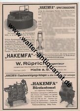 Hakemfa Bottle Cleaning rüprich Hall Large Advertising Display Anno 1926 Advertising