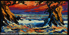 Serge Dube West Coast Ocean Landscape Painting Canadian Listed Artist