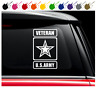 US Army Veteran Vinyl Decal Car Truck Window Sticker Military Logo