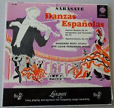 Ruggiero Ricci, Louis Persinger – Sarasate - Danzas Espanolas London/Decca