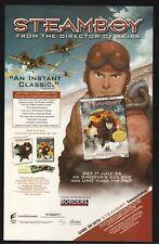 """Steamboy""--2005 DVD Release Advertisement"