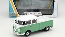 Motor Max Volkswagen Type 2 T1 Double Cab Pickup Truck GREEN 1/24 Model 79343