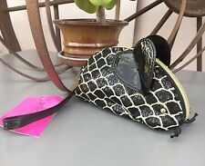 "Betsey Johnson Whimsical Black & White Mouse Wrist Purse 7""x3.5""X3"" (NWT)*"
