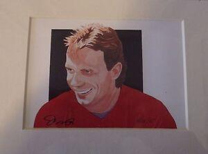 San Francisco 49ers Joe Montana Matted Signed 5x7 Retirement Print 1995 Rare New