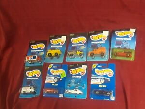 RARE Lot of 6 80s Hot Wheel Workhorses Peterbilt Tank Trucks Pepsi cat gift vtg