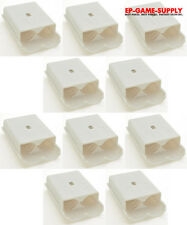 Lot 10 x White Battery Pack Holder Cover Shell for XBOX 360 Wireless Controller