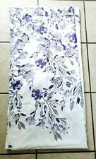 "LUSH DECOR PURPLE & GREY TANISHA SHOWER CURTAIN 72"" X 72"""