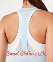 Lululemon Women's Swiftly Tech T-Back          Blue Glow  (US 8/UK 12)  RRP £48