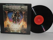 RAIDERS OF THE LOST ARK : The Movie On Record LP Vinyl + Booklet John Williams