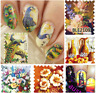 Nail Art Water Decals-Stickers-Adesivi ad acqua-effetto DIPINTO-Buy 3 Get 4