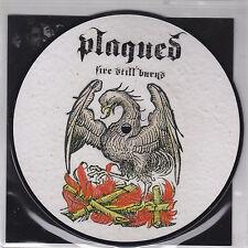 "PLAGUED / TRIMONIUM- split EP  7"""