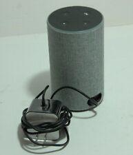 Amazon Echo (2nd Generation) Smart Assistant - Heather Gray Fabric