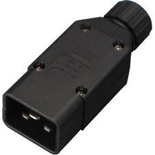 Conntek 60913 IEC320 C20 Inline Assembly Male Plug