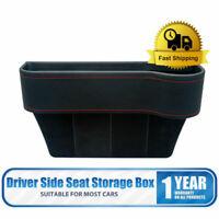 Car Seat Gap Slit Pocket Catcher Organizer Storage Box Phone Bottle Cup Holder