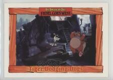 1991 Impel An American Tail: Fievel Goes West #51 Tiger Dodging Dogs Card 0c4