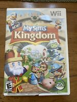 MySims Kingdom - Nintendo Wii, 2008-Cracked Case, Missing Manual, Disc Good Cond