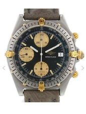BREITLING Chronomat 18k Gold / Steel with Papers Model Reference 81.950