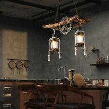 Hängeleuchte Industrial Pendelleuchte Deckenlampe Vintage 2-Light Kronleuchter