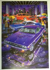 1970 1971 1972 DODGE CHALLENGER R/T ART 2008 RETRO SRT E BODY 383 440 SIX PACK