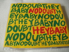 NO DOUBT - HEY BABY - UK CD SINGLE - GWEN STEFANI