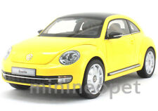 KYOSHO 08811SY 2012 VW VOLKSWAGEN THE BEETLE COUPE 1/18 SUN FLOW YELLOW