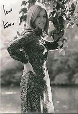 "Genuine Hand Signed Autographed Photo Photograph KIKI DEE Good Signature 12 x 8"""