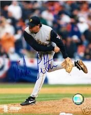 MIKE FETTERS PITTSBURGH PIRATES SIGNED 8X10 PHOTO W/COA