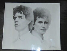 "MICK JAGGER & KEITH RICHARDS 1989 PRINT ORIG. SIGNED GARY SADERUP - 24"" X 20"""
