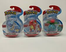 Pokemon Battle Figure Starter Evolution Set Ivysaur Charmeleon Wartortle