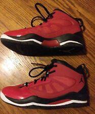 Nike Air Jordan Flight Team 11 Shoes Boys Size 5.5Y Worn Very Little 428780-601